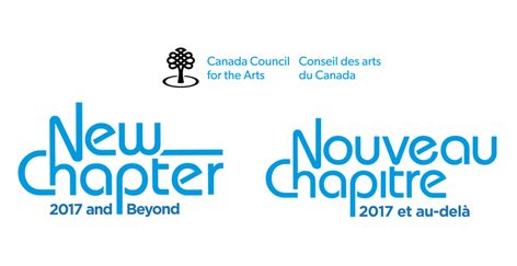 New Chapter Canada Council for the Arts Logo