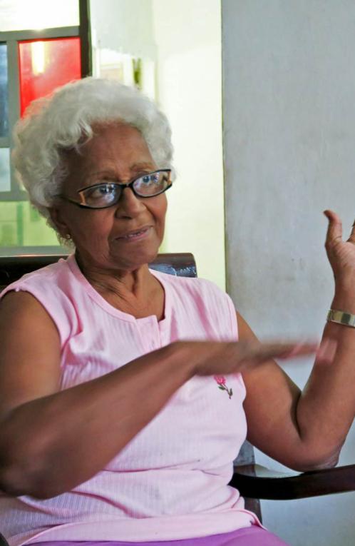 Participant Zonia Ramona Mediaceja Peguero