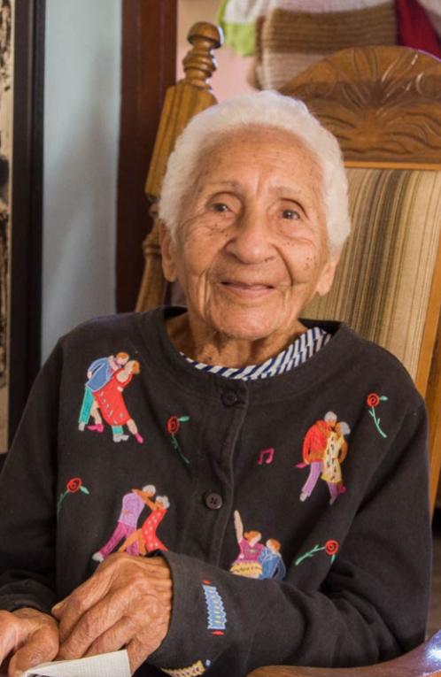 Participant Ana Lidia Candevá Lescague